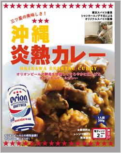 沖縄炎熱カレーの商品画像